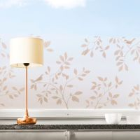 Birds fönsterfilm koppar - 34x98 cm - Siluett Frost