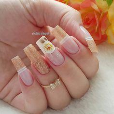 2019 10 Gorgeous Nail Designs To Try - Naija's Daily Best Nail Art Designs, Beautiful Nail Designs, Perfect Nails, Gorgeous Nails, Diy Acrylic Nails, Nails Short, Nagellack Trends, Coffin Nails Long, Ballerina Nails