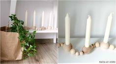 KASIA AT HOME: Skandynawski świecznik Ferm Living. DIY