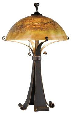 Kenroy Home 20085CHC Santa Fe Table Lamp, Chocolate Caramel Kenroy Home http://www.amazon.com/dp/B001LX6ASQ/ref=cm_sw_r_pi_dp_uyl3wb1TS8RYX