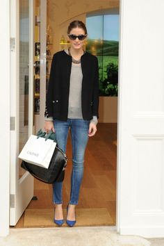 Olivia Palermo - casual friday