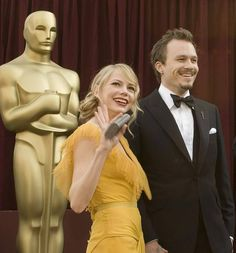 Michelle Williams and Heath Ledger at the 78th Annual Academy Awards.