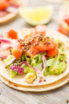 DIY Street Tacos with Crispy Quinoa #52NewFoods #easydinnerideas #backtoschool