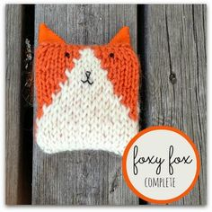 How To Knit A Fox