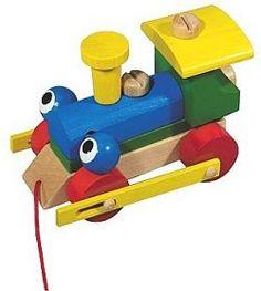 Konštrukčný žmurkajúci vlak