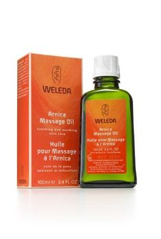 Weleda Arnica Massage Oil (98% organic) is an intensive warming body oil that's been a staple of massage therapists for 93 years to soothe muscle soreness and ease muscle aches caused by overuse or...