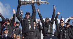 La vittoria di Oracle Team USA by Carlo Borlenghi