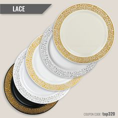 You'll definitely love this Lace Premium Disposable Plate Collection, that will drive  elegance and class to any types event.  Get 20% OFF Discount use top320 code  #smartyhadaparty #partystyle #party #events #wedding #occassion #disposable #plate #bestselling #lifestyle 70th Birthday, Birthday Ideas, Elegant Plastic Plates, Party Supply Store, Disposable Plates, Party Events, Linen Store, Champagne Glasses, Flutes