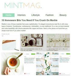 ie Mint Mag magazine Ireland Monochrome Fashion, Lust, Ireland, Fashion Beauty, Magazine, Contemporary, Elegant, Interior, Style