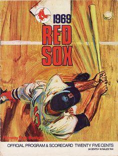 1969 Red Sox Program