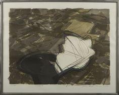 Ulla Rantanen. Varjo, 1984, 50x65 cm, edition 14/100 - Hagelstam A129