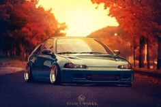 #honda #civic #eg #hatch #slammed #stance