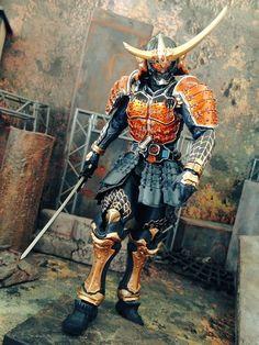 syu1-satoh(@Syu1syu1Syu1)さん Kamen Rider Gaim, Kamen Rider Series, Character Concept, Character Art, Character Design, Armadura Cosplay, Japanese Warrior, Ninja, Sci Fi Armor