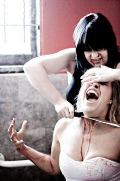 Woman Knife Woman