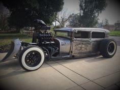 Bad To The Bone - 1929 Ford Tudor Rat Rod. http://nickellscustoms.com/hot_rods/