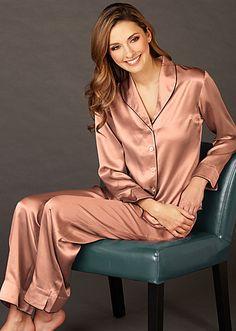 Natalya Silk Pajama and Spa Gift Set - Gift for Her 6c6cee651