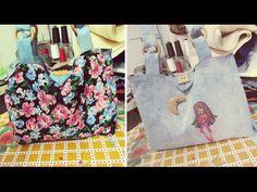DIY Tote Bag ¿Cómo hacer un bolso estilo Tote? Tutorial hacer bolso - YouTube