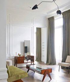 Saint James Apartment by Joseph Dirand via @chiararizzolo . . . . . . . #josephdirand #parisianapartment #midcentury #pierrejeanneret…