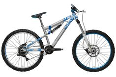 NS Bikes Soda FR2 Suspension Bike 201