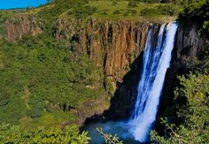 Howick Falls.  Howick, KwaZulu-Natal, South Africa.  By Stephen W. Johnson