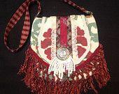 Chichi Rose One of a Kind Boho Fringed Men's Tie Handbag