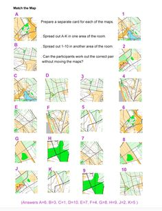 Match the map https://www.britishorienteering.org.uk/page/Weekly_Club