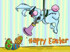 Happy Easter! - Digital Art by Premalatha Sunderam in Humour Me at touchtalent 52769