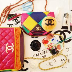 Chanel Fall 2014 Collection SuperMarket Chic + Food DIY