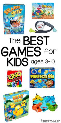 Best Board Games for Kids - games for kids and parents; gift ideas for kids; Christmas gifts for kids; toys for kids from Busy Toddler Toddler Board Games, Childrens Board Games, Preschool Board Games, Educational Board Games, Kindergarten Games, Board Games For Kids, Games For Toddlers, Activities For Kids, Activity Board