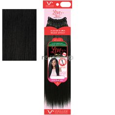 "Vivica Fox Love Lock Crochet Braids 14"" - Color 1 - Blend Braiding"