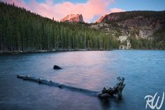 A Very Windy Sunrise at Bear Lake, Rocky Mountain National Park, Colorado. Blog Post: http://www.rwongphoto.com/blog/bear-lake-rmnp/  #RMNP #colorado #nationalparks