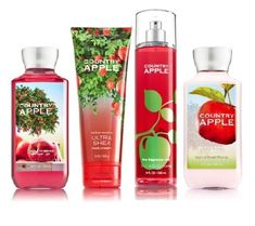 Introducing Bath  Body Works COUNTRY APPLE Deluxe Gift Set  Body Lotion  Body Cream  Fragrance Mist  Shower Gel Full Size. Get Your Ladies Products Here and follow us for more updates!