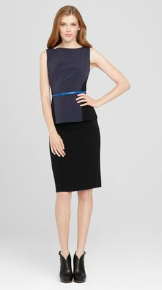 A luxurious crepe skirt for the most formal of work meetings, this Katie Skirt is equal parts beauty and class with its immaculate cut and bright waist stripe.     http://www.elietahari.com/womens-designer-clothing/womens-skirts/katie-skirt-macrame/801439026896,default,pd.html?start=9=katie=SEARCH