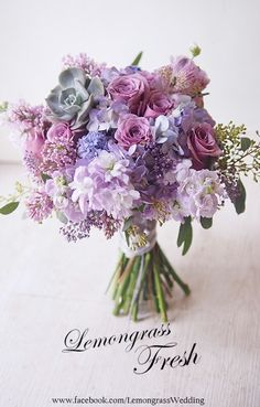 Purple Wedding Flowers These will assist your floral specialist comprehend the designs, colors, and flower types you like best and style something that will fit your tastes. Purple Wedding Bouquets, Bridal Flowers, Flower Bouquet Wedding, Country Wedding Bouquets, Purple Flower Bouquet, Lavender Bouquet, Bridal Bouquets, Boquette Wedding, Wedding Bridesmaids