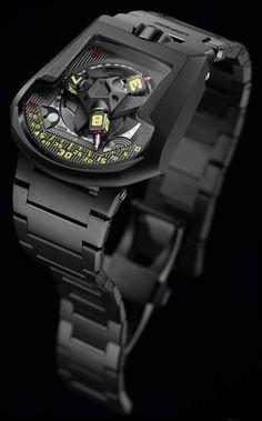 "URWERK UR-202S ""Full Metal Jacket"" Watch With Bracelet | aBlogtoWatch"