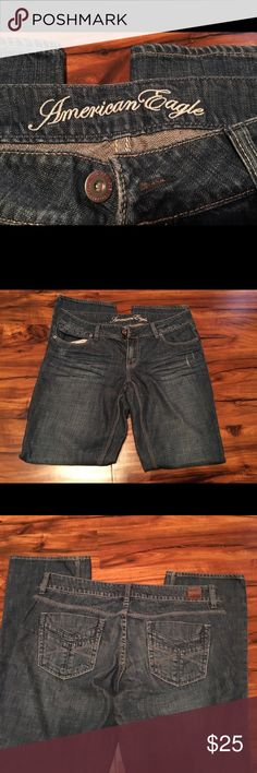 American Eagle jeans. Size 12. Straight leg. American Eagle jeans. Size 12. Straight leg. American Eagle Outfitters Jeans Straight Leg
