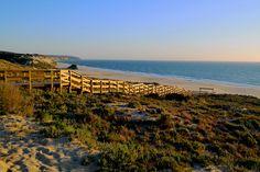 Praia do Meco. Portugal Landscapes, Mountains, Beach, Nature, Travel, Viajes, Islands, Paisajes, Scenery