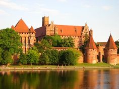 Malbork Castle, near Gdansk, Poland