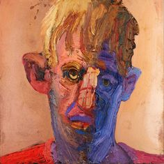 Ray Turner | Young Man in Red | From a unique collection of figurative paintings at https://www.1stdibs.com/art/paintings/figurative-paintings/