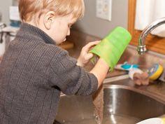 washing dishes chores