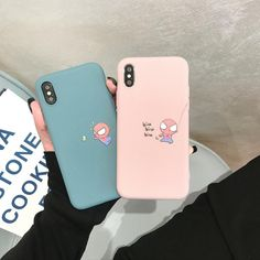 Cartoon Marvel Spiderman Cute Soft Silicone iPhone Case Type: Fitted CaseFunction: Dirt-resistant,Anti-knockCompatible Brand: Apple iPhonesCompatible iPhone Model: iPhone 6 Plus,iPhone plus,iPhone … Iphone 8 Plus, Iphone 7, Iphone Phone Cases, Iphone Case Covers, Iphone Ringtone, Free Iphone, Apple Iphone, Couples Phone Cases, Cute Phone Cases