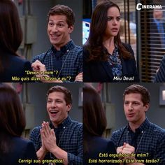 Best Series, Best Tv Shows, Series Movies, Tv Series, Jake And Amy, Andy Samberg, Brooklyn Nine Nine, Music Tv, Movie Quotes