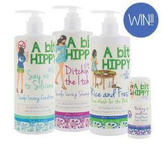 WIN a hamper of natural skincare from A Bit Hippy! Closes 9/6/15