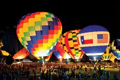 Each July, the sky above Longview turns predictably polka-dotted when the Great Texas Balloon Race (GTBR) fills the air with dozens of brightly colored hot air balloons.