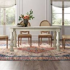 Kelly Clarkson Home Sylvan Extendable Dining Table & Reviews | Wayfair Trestle Dining Tables, Solid Wood Dining Chairs, Extendable Dining Table, Dining Table In Kitchen, Upholstered Dining Chairs, Dining Furniture, Table And Chairs, Side Chairs, Furniture Sale