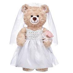 Gorgeous Wedding Dress, Stunning Dresses, Beautiful Bride, Bear Wedding, Wedding Sets, Unique Wedding Gifts, Unique Weddings, Disney Faries, Baby Dome