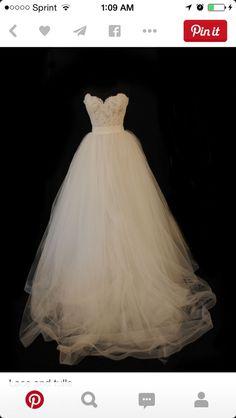 Tara Keely Ivory Tulle 2210 Formal Wedding Dress Size 8 (M) off retail Luxury Wedding Dress, Wedding Dress Sizes, Tulle Wedding, Bridal Dresses, Wedding Gowns, Dream Wedding, Elegant Wedding, Formal Dresses For Weddings, Just In Case