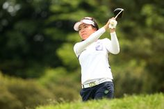 Pei-Ying Tsai Photos Photos - Pei-Ying Tsai of Taiwan hits her tee shot on the 3rd hole during the first round of the Hoken-no-Madoguchi Ladies at the Fukuoka Country Club Ishino Course on May 13, 2016 in Fukuoka, Japan. - Hoken-no-Madoguchi Ladies - Day 1