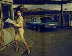 Perfect Day – Jacques Olivar delivers his own spin on retro style for the April cover shoot of Marie Claire Italia starring Alexandra Tomlinson (d'management group). Styled by Elisabetta Massari, Alexandra dons a wardrobe of ladylike pieces from the likes of Versace, Salvatore Ferragamo, Dior and Moschino in the moody images.