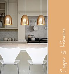 Light the Way… choices for kitchen island lighting (Copper BTC Stanley pendant)